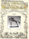 Young Hunter featured on Chronicle of the Horse Cover
